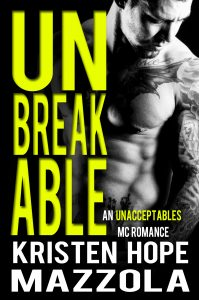 Review:  Unbreakable by Kristen Hope Mazzola