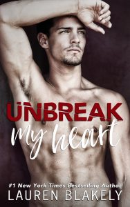 Unbreak My Heart by Lauren Blakely Release Blitz & Review