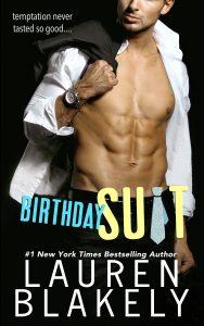 Birthday Suit by Lauren Blakely Release Blitz & Review