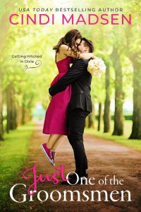 Just One of the Groomsmen by Cindi Madsen Blog Tour   Review