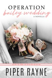 Operation Bailey Wedding by Piper Rayne Release Blitz & Review