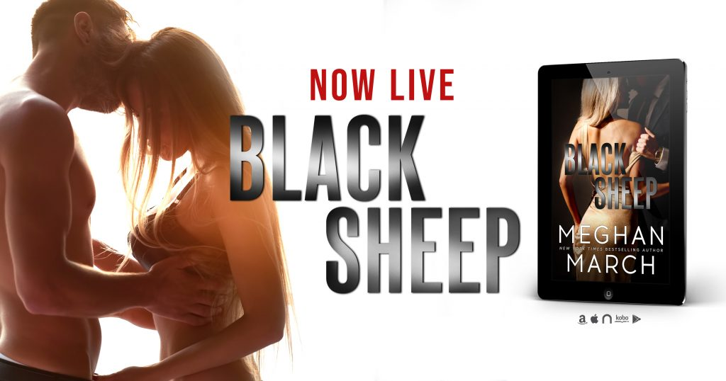 Black Sheep by Meghan March Banner