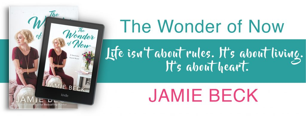 The Wonder of Now by Jamie Beck Graphic