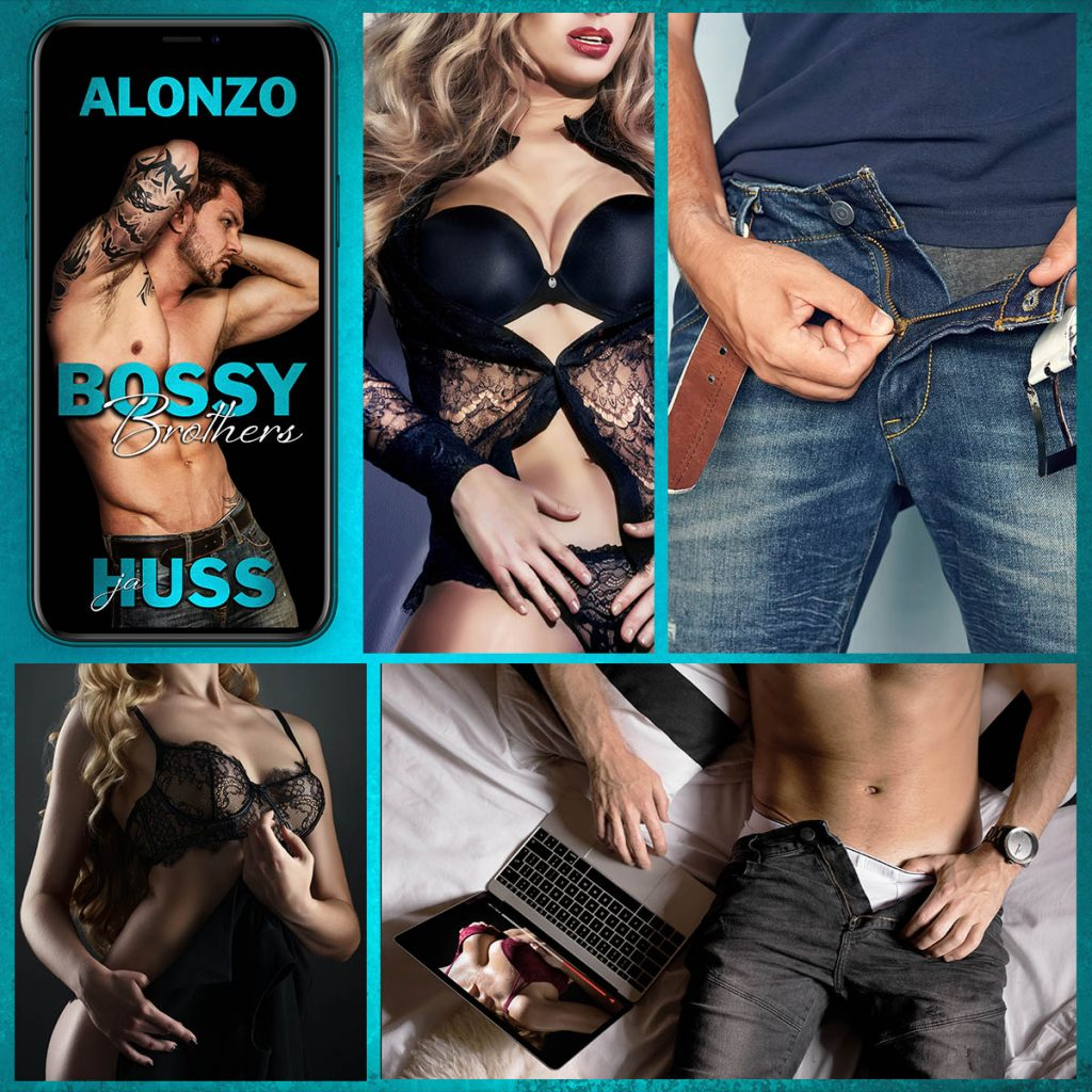 Bossy Brothers Alonzo by JA Huss Teaser 2