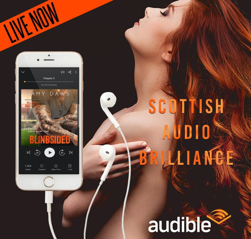 Blindsided by Amy Daws Audiobook