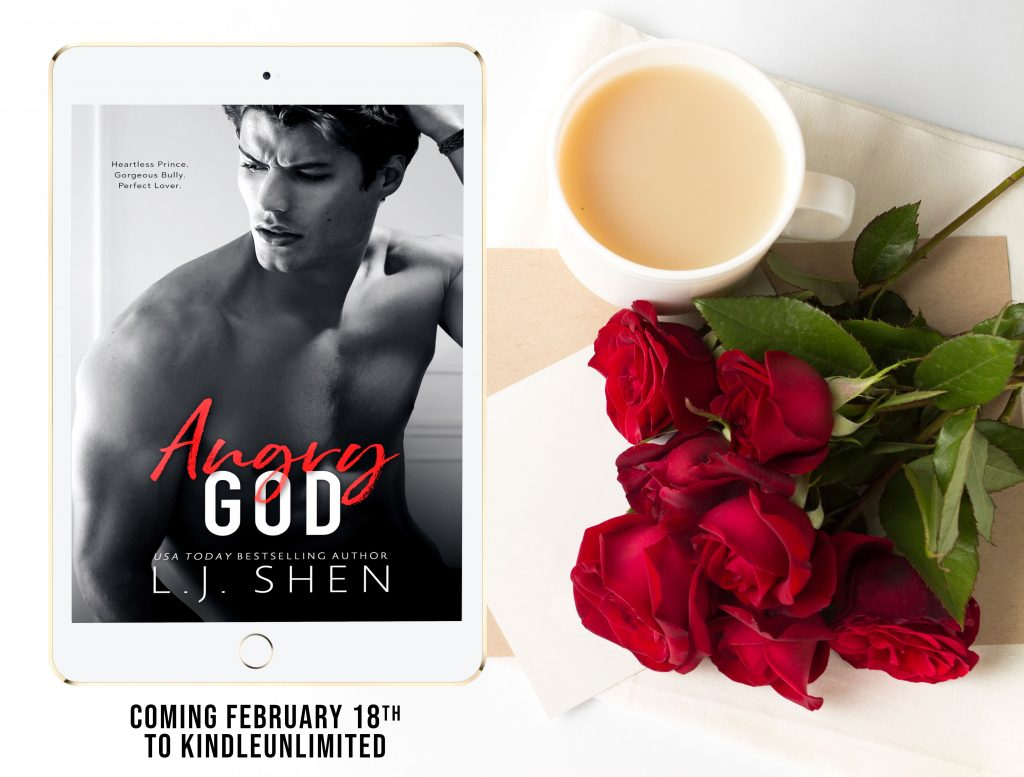 Angry God by LJ Shen Cover Reveal