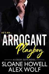 Arrogant Playboy by Alex Wolf & Sloane Howell Blog Tour