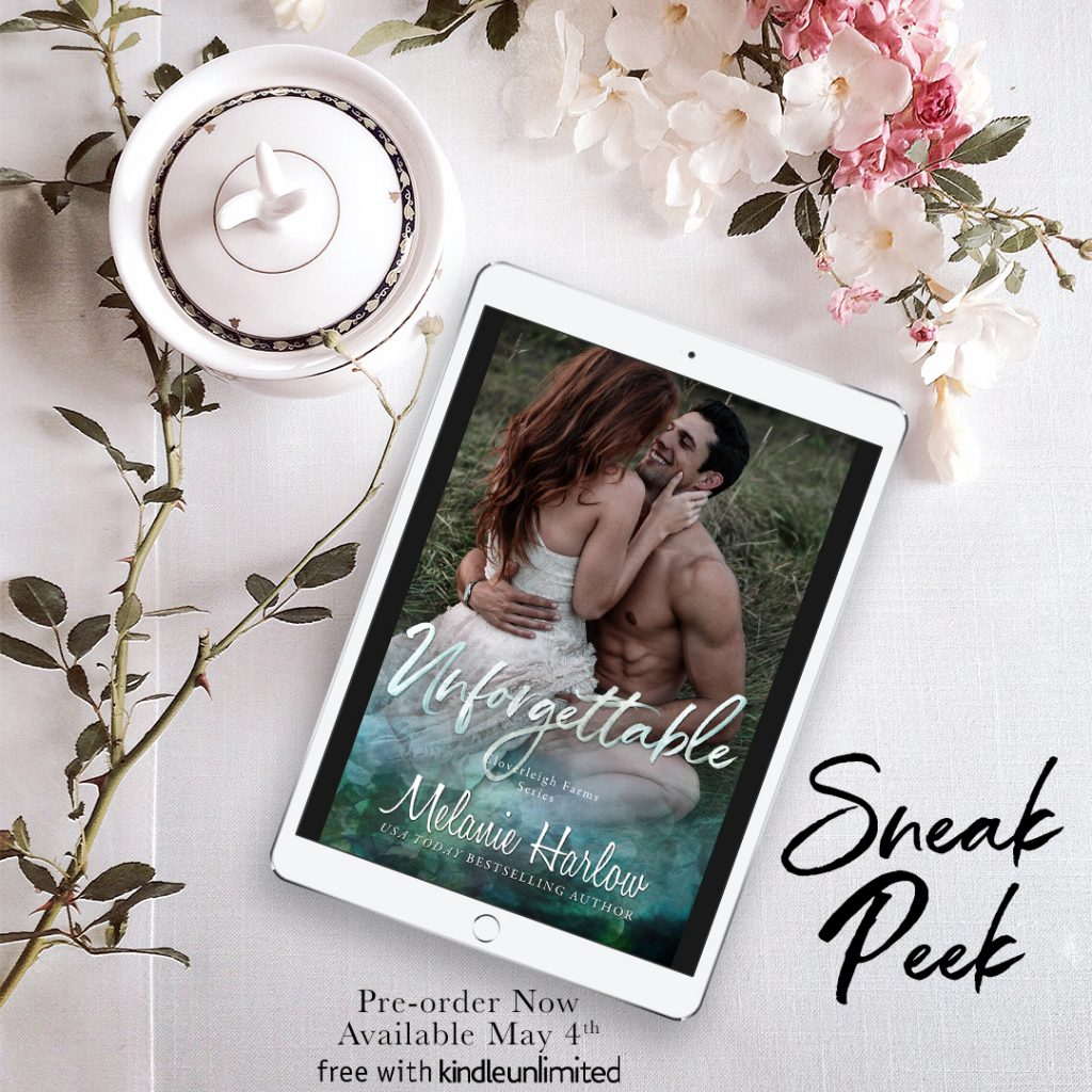 Unforgettable by Melanie Harlow Sneak Peek