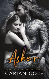 Asher by Carian Cole Release & Review
