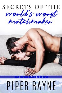 Secrets of the World's Worst Matchmaker by Piper Rayne Release Blitz & Review