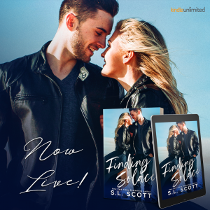 Finding Solace by SL Scott is now live