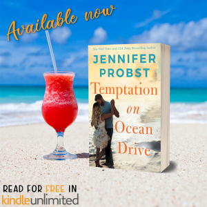Temptation on Ocean Drive by Jennifer Probst now available