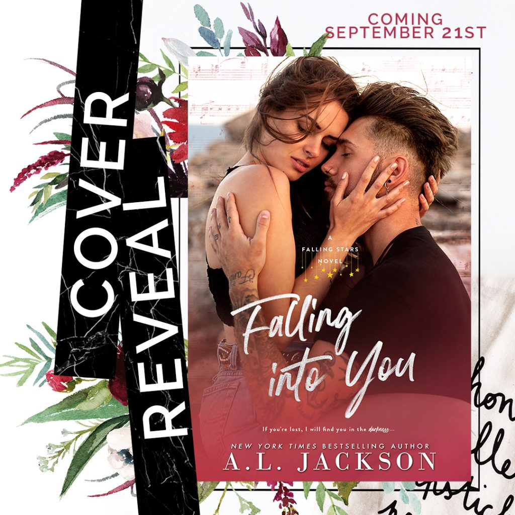 Falling into You by AL Jackson Cover Reveal