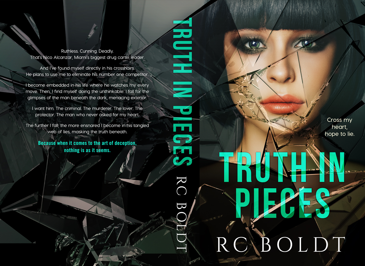 Truth in Pieces by RC Boldt Full Wrap Cover