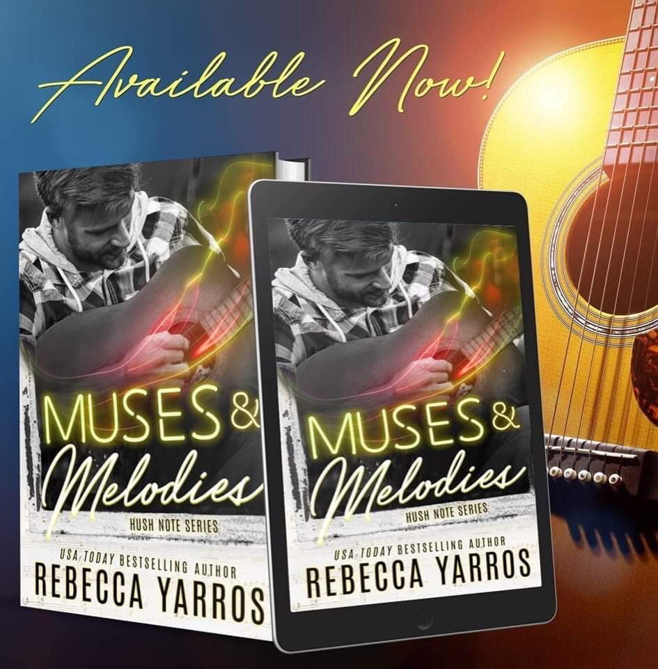 Muses & Melodies by Rebecca is now live