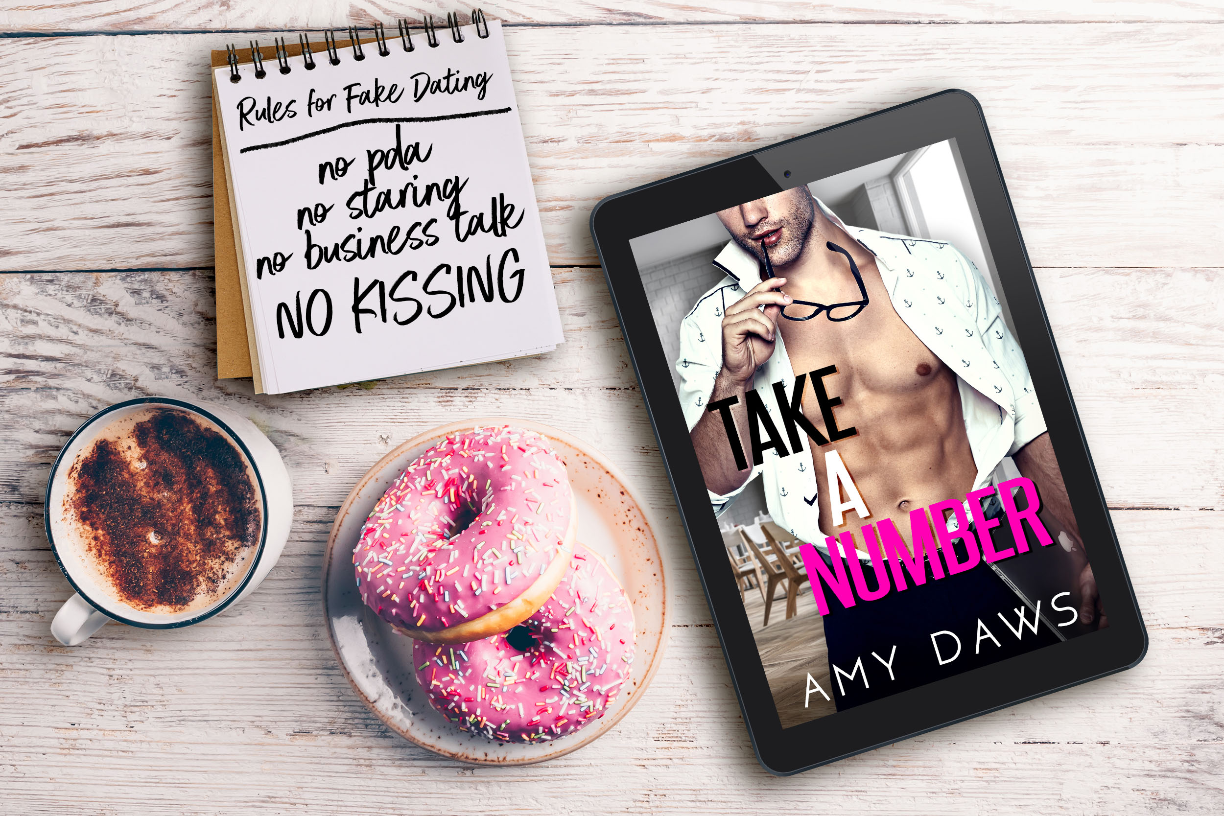 Take A Number by Amy Daws Cover Reveal