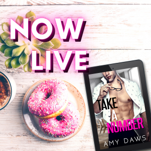 Take a Number by Amy Daws Now Live