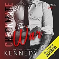 Audio Review: Checkmate: This is War by Kennedy Fox