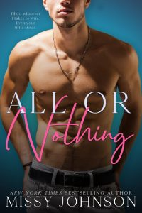 All or Nothing by Missy Johnson Release & Review