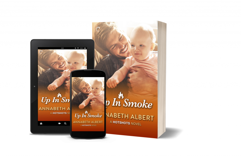 Up in Smoke by Annabeth Albert is live