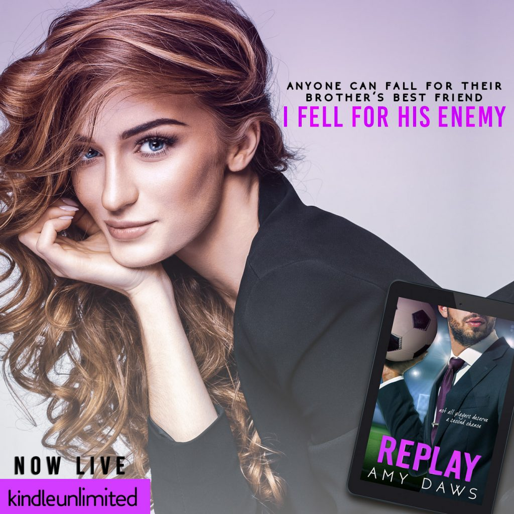 Replay by Amy Daws is now live