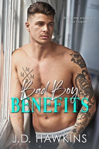 Bad Boy Benefits by JD Hawkins Release & Review