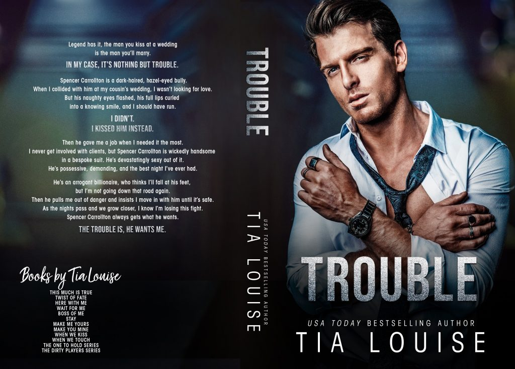 Trouble by Tia Louise Cover Reveal